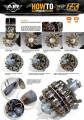 Weathering Engine and turbines wash AK2033 AK Interactive