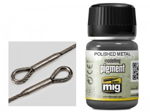 Pigment modelarski Polished metal