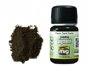 Pigment modelarski Farm dark earth