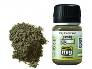 Pigment modelarski City dark dust