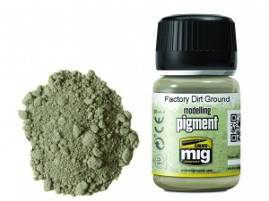 Pigment modelarski Factory dirt ground