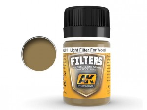 Filtr Light filter for wood