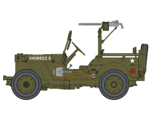 Jeep Willys MB 1/4 Ton 4x4 Truck