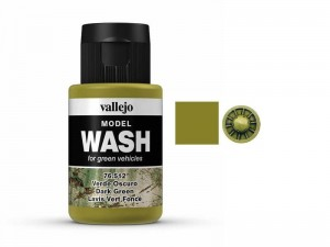 Wash modelarski Dark Green