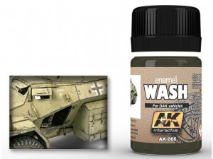 Wash DAK vehicles Afrika Korps