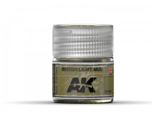 Lakier akrylowy British light mud