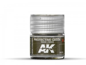 Lakier akrylowy Protective green