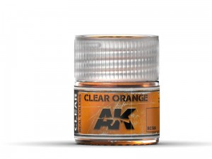 Lakier akrylowy Clear orange