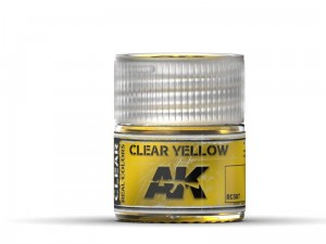 Lakier akrylowy Clear yellow