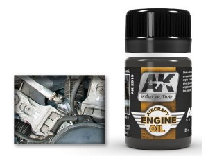 Weathering Aircraft engine oil