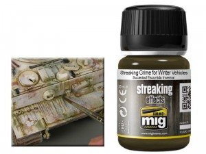 Weathering Streaking grime for winter vehicles