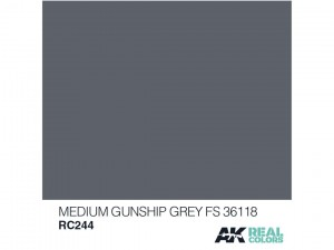 Lakier akrylowy Medium gunship grey