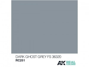 Lakier akrylowy Dark ghost grey