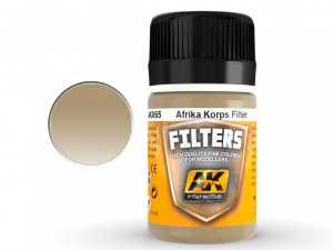 Filtr Filters Light brown for desert yellow