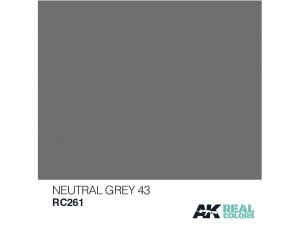 Lakier akrylowy Neutral grey 43