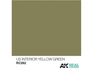 Lakier akrylowy US Interior yellow green