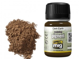 Pigment modelarski Dark earth