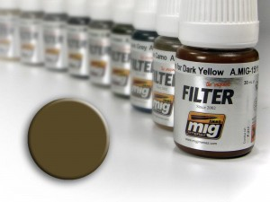 Filtr filter Tan for 3 tone camo