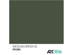 Lakier akrylowy Medium green 42