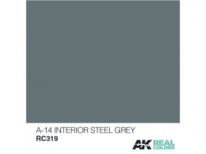 Lakier akrylowy A-14 interior steel grey