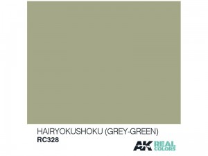 Lakier akrylowy Hairyokushoku grey green