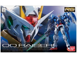 OO Raiser celestial being GN-0000+GNR-010