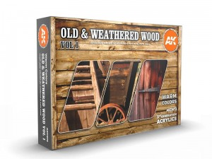 Zestaw farb Old & weathered wood vol.1