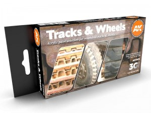 Zestaw farb Tracks & wheels