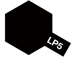 Lakier LP5 Semi gloss black