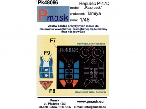 Maski do Republic P-47D Razorback