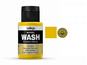 Wash modelarski Dark Yellow