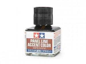 Farba do linii Panel line brown