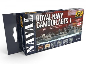 Zestaw farb Royal Navy camouflages 1