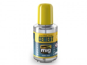 Klej modelarski Extra Thin Cement 30ml