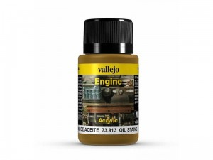 Weathering Oil stains engine