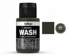 Wash modelarski Dark Grey