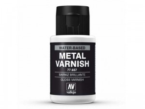 Metal gloss varnish lakier metalizer