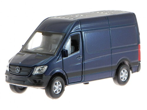 Mercedes-Benz Sprinter Panel Van granatowy 43730 Welly