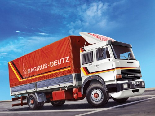 Magirus-Deutz 360M19 Canvas 3912 Italeri