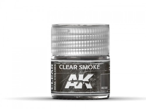 Lakier akrylowy Clear smoke RC508 AK Interactive