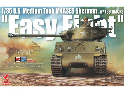 Czołg M4A3E8 Sherman Easy Eight 35-020 Asuka