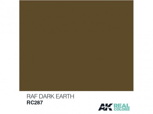 Lakier akrylowy RAF dark earth RC287 AK Interactive