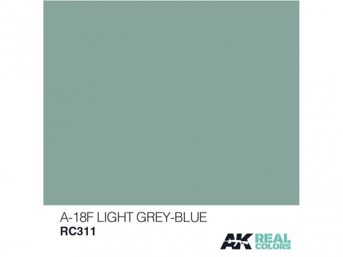 Lakier akrylowy A-18F light blue RC311 AK Interactive