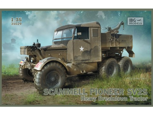 Ciągnik Scammell Pioneer SV2S 35029 IBG