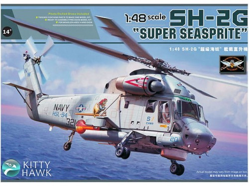 Śmigłowiec Kaman SH-2G Super Seasprite KH80126 Kitty Hawk