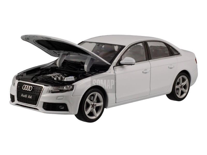 Audi A4 B8 2008 Biały 22512 Welly