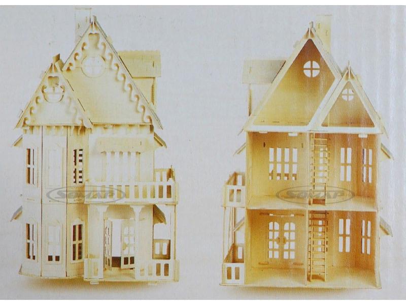 Fantastyczny Gotycki domek dla lalek składanka DH001/K Abigfun HY16