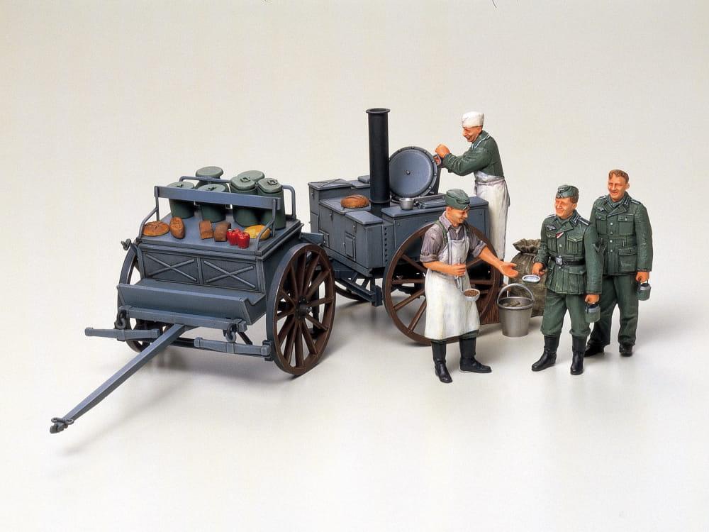 Figurki Niemiecka Kuchnia Polowa 35247 Tamiya