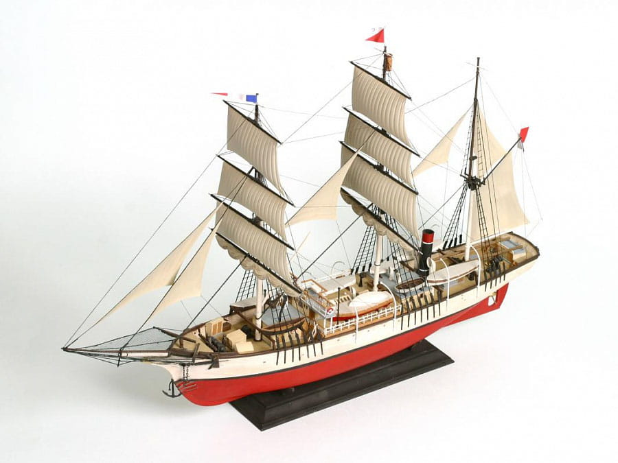 Statek bark Pourquoi Pas?