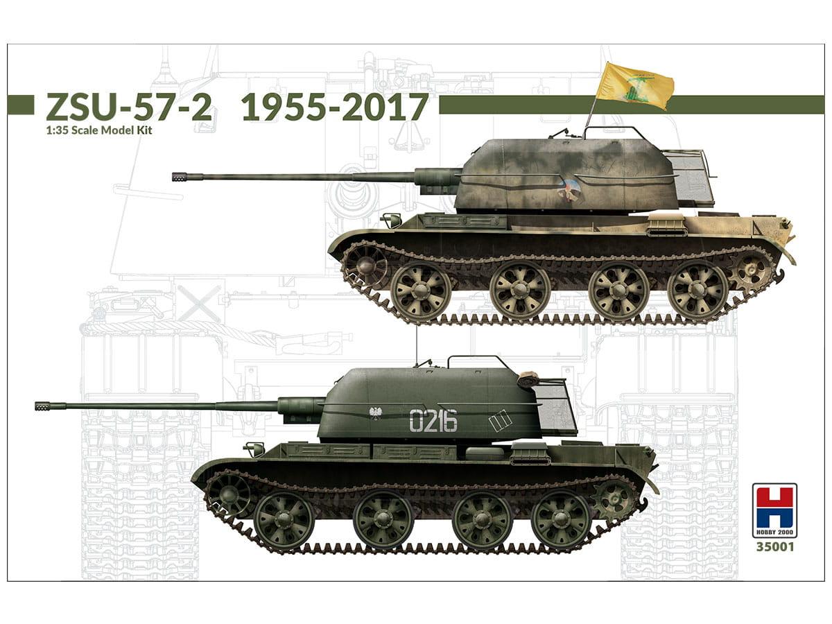 Działo samobieżne ZSU-57-2